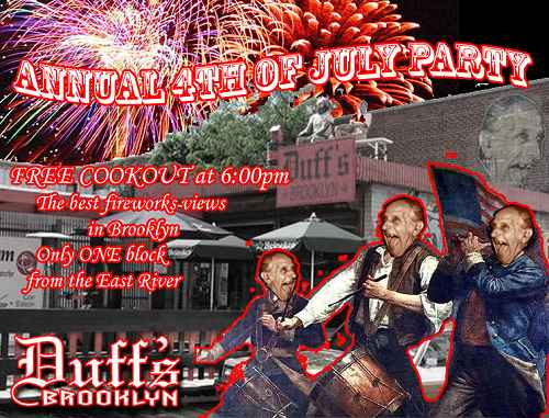 Annual 4th of July Party at Duff's