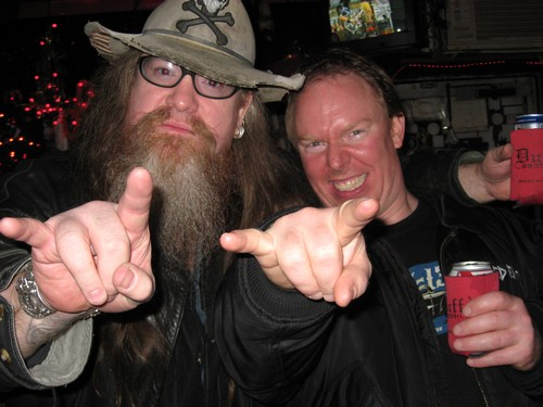 JD and Richard Christy