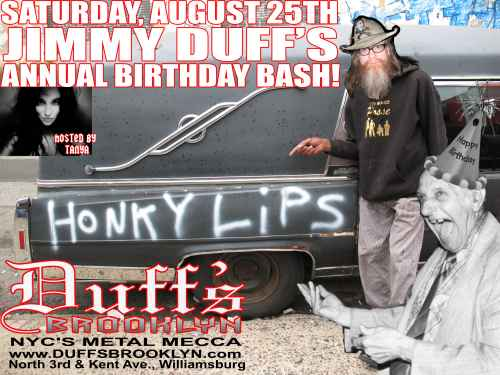 Jimmy Duff's Annual Birthday Bash