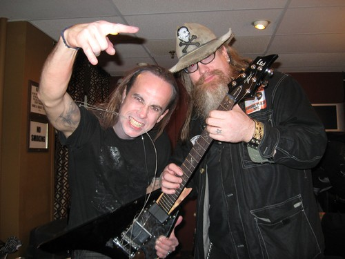 Nergal of Behemouth & Jimmy Duff