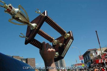 Coney Island Mermaid Parade Trophy 2007