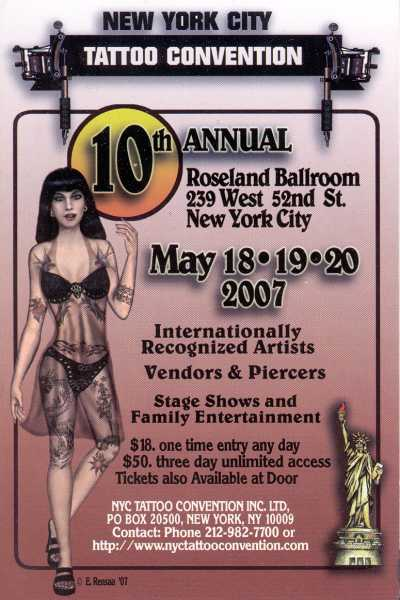 2007 NYC Tattoo Convention