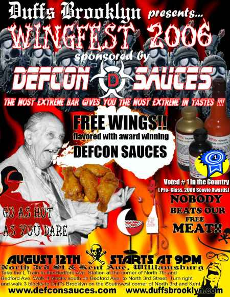 WINGFEST on Saturday August 12th starting at 9pm
